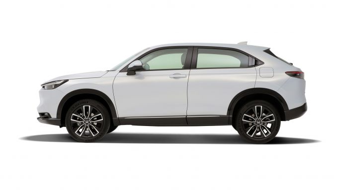 Nuovo Honda HR-V: visuale laterale