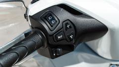 Nuovo Honda SH 150i 2020, comandi al semimanubrio sinistro