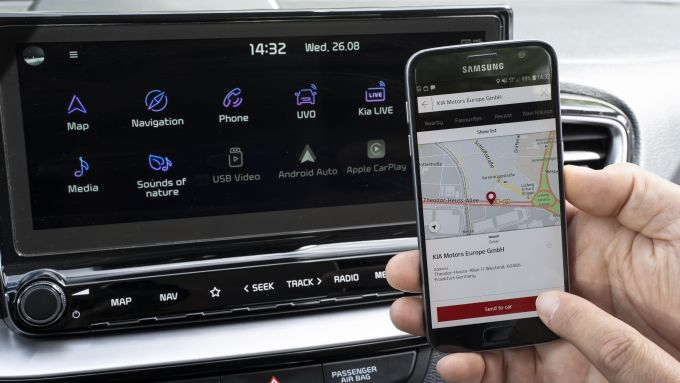 Nuovo infotainment UVO Connect ''Phase II''