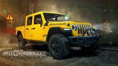 Jeep Scrambler, ecco i rendering del Wrangler pick-up - Immagine: 2