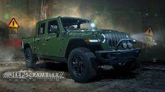 Jeep Scrambler, ecco i rendering del Wrangler pick-up - Immagine: 3