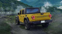 Jeep Scrambler, ecco i rendering del Wrangler pick-up - Immagine: 4