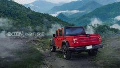 Jeep Scrambler, ecco i rendering del Wrangler pick-up - Immagine: 7