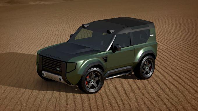 Nuovo land Rover Defender 80: inizialmente avrà motori a tre cilindri e trazione anteriore