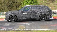 BMW X8, nuove foto spia dal 'Ring del giga SUV (poco) coupé - Immagine: 8