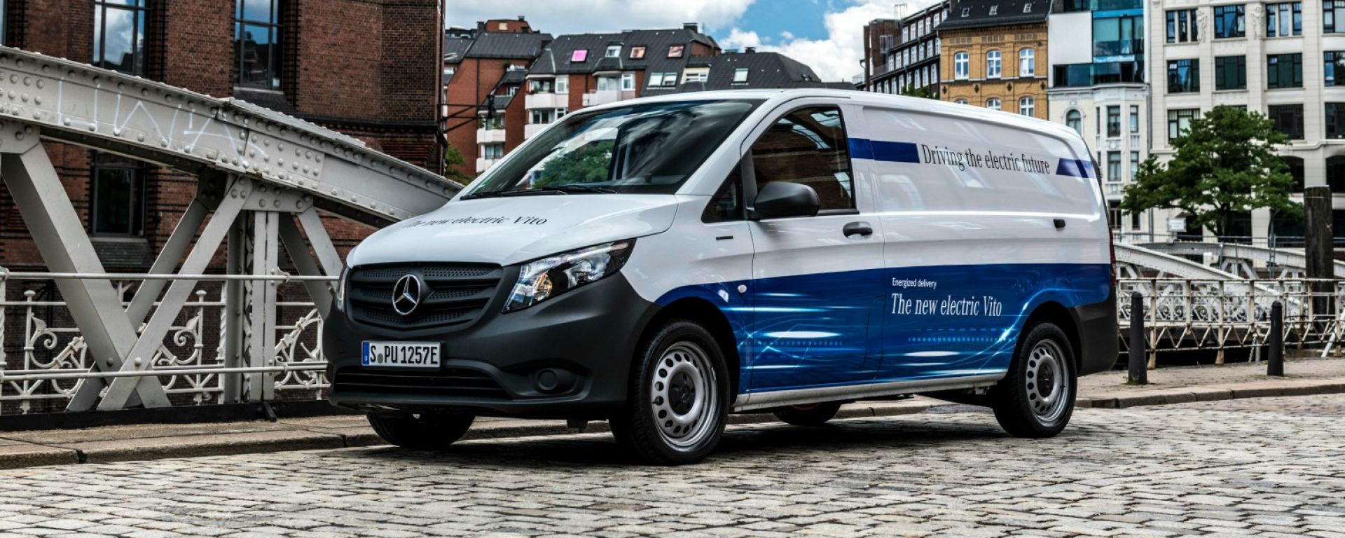 Nuovo Mercedes-Benz eVito: batteria da 41 kWh e autonomia fino a 150 km