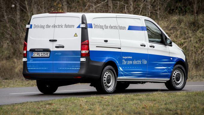 Nuovo Mercedes-Benz eVito: il van tedesco con motore 100% elettrico