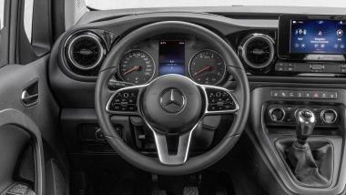 Nuovo Mercedes Citan 2022: gli interni