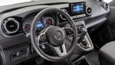 Nuovo Mercedes Citan 2022: il posto guida