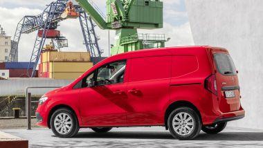 Nuovo Mercedes Citan 2022: il van in visuale laterale