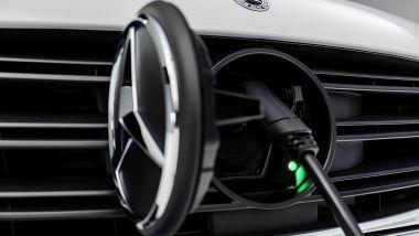 Nuovo Mercedes Citan 2022: la presa di ricarica di eCitan