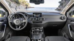 Nuovo Mercedes Classe X: il sistema infotainmet ha uno da 8,4 pollici tattile e touchpad centrale