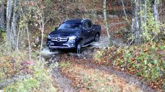 Nuovo Mercedes Classe X: trazione integrale inseribile e marce ridotte