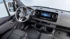 Nuovo Mercedes Sprinter 2018, anche con MBUX