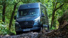 Novità per Mercedes Sprinter 2022: motori, cambio automatico e 4x4
