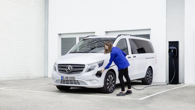 Nuovo Mercedes Vito 2020: l'elettrico ha la batteria da 90 kWh