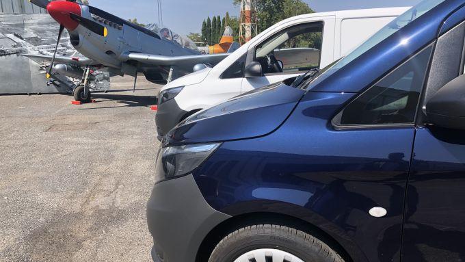 Nuovo Mercedes Vito 2020: presentato al Museo dell'Aeronautica di Vigna di Valle