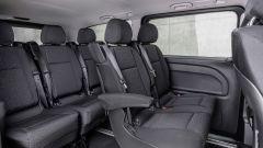 Nuovo Mercedes Vito: i sedili singoli offrono un buon comfort