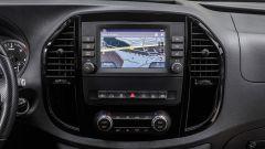 Nuovo Mercedes Vito: il display del sistema multimediale con navigatore