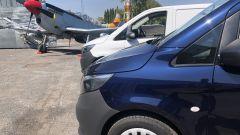 Nuovo Mercedes Vito: il van tedesco nella splendida cornice del Museo dell'Aeronautica di Vigna di Valle