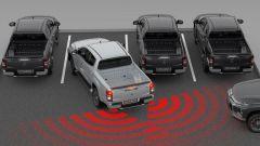 Nuovo MItsubishi L200 2019: il sistema RCTA per evitare collisioni in retromarcia