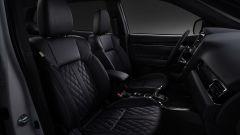 Nuovo Mitsubishi Outlander PHEV 2019: i sedili in pelle