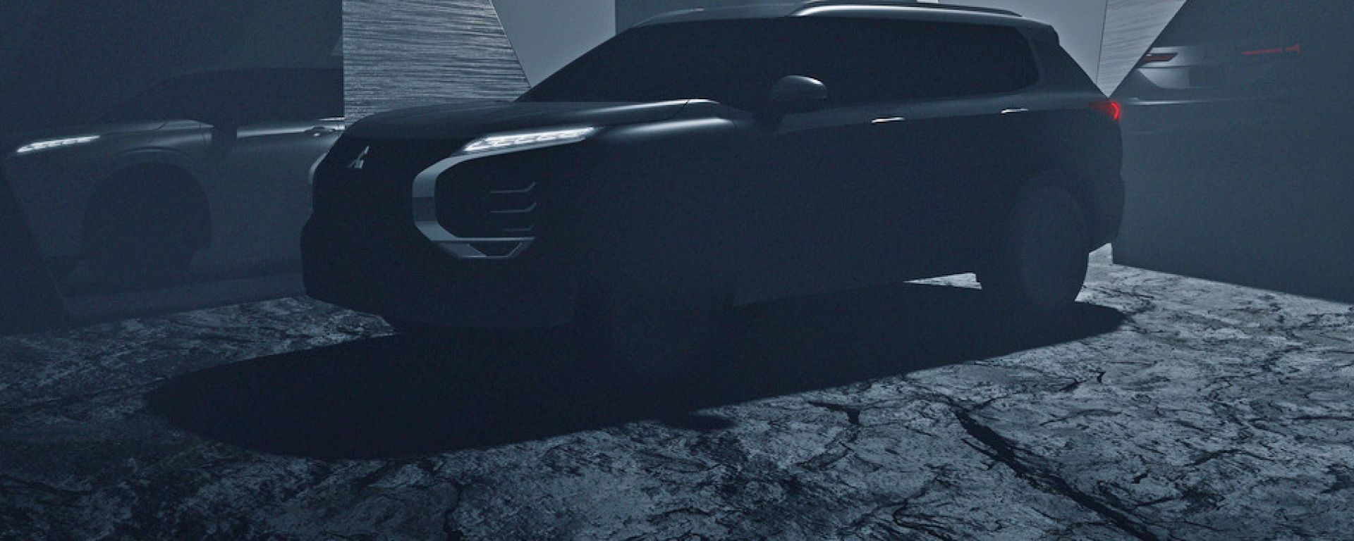 Nuovo Mitsubishi Outlander, primo teaser