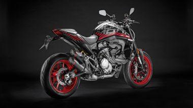 Nuovo Monster 2021: gli accessori Ducati Performance e i kit adesivi