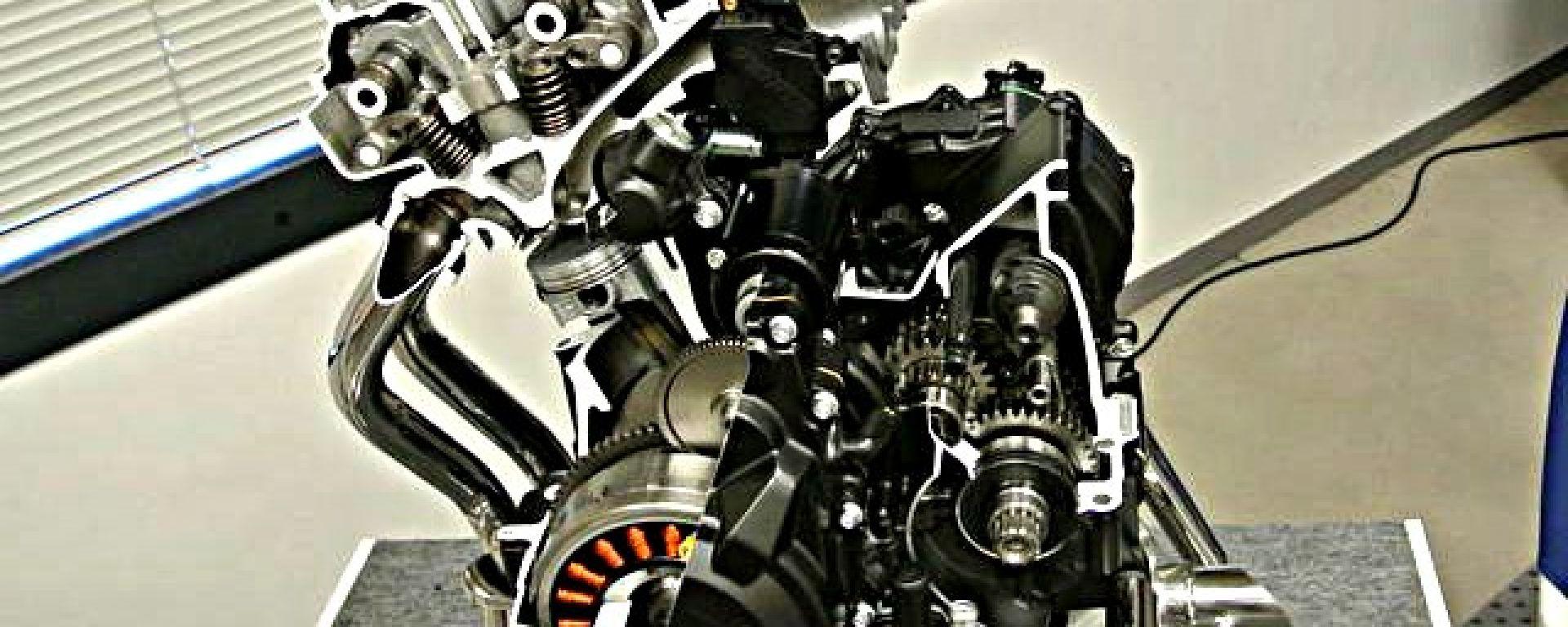 Nuovo motore Honda 400 cc