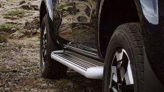 Nuovo Nissan Navara 2020: dettaglio della pedana