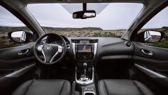 Nuovo Nissan Navara 2020: gli interni