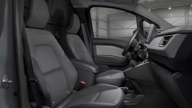 Nuovo Nissan Townstar, i sedili