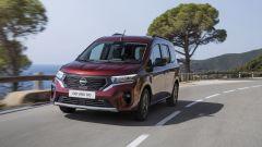 Nuovo Nissan Townstar, multispazio (anche EV). Motori, com'è fatto, video