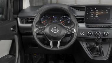 Nuovo Nissan Townstar, il posto guida
