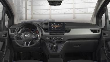 Nuovo Nissan Townstar, l'abitacolo