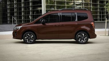 Nuovo Nissan Townstar, visuale laterale