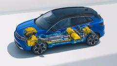 """Opel Grandland 2021, """"fari"""" sul restyling. Tutte le novità - Immagine: 12"""