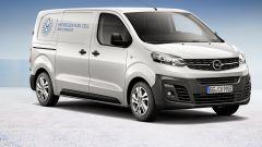 Opel Vivaro-e Hydrogen 2021: autonomia, volume di carico, uscita