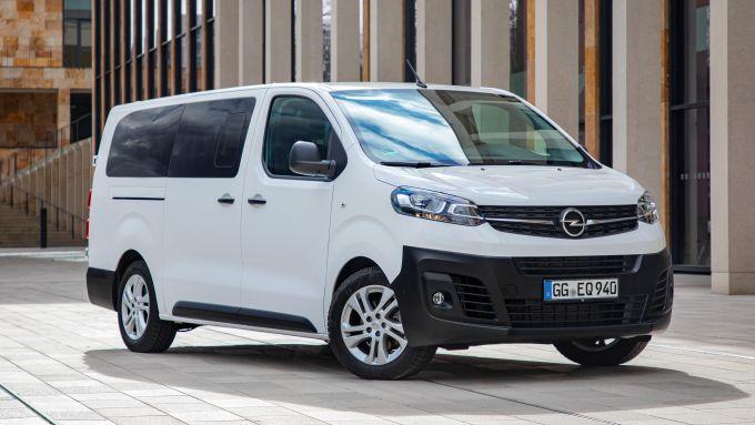 Nuovo Opel Vivaro Life, prezzi da 28.280 euro