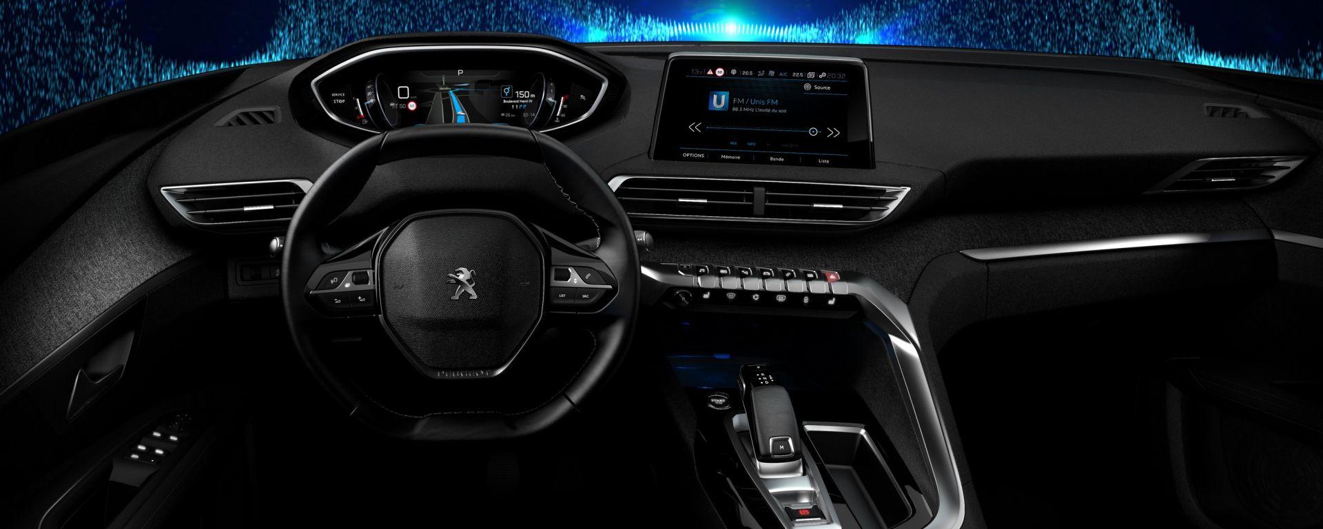 Nuovo Peugeot i-Cockpit: ecco come sarà la plancia nuova 3008