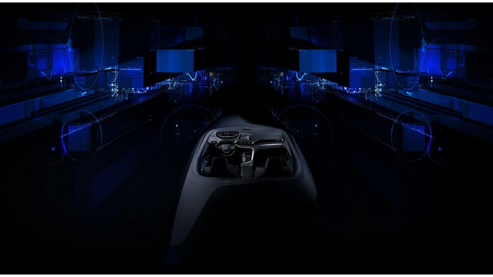 novit auto nuovo peugeot i cockpit ecco come sar la plancia nuova 3008 motorbox. Black Bedroom Furniture Sets. Home Design Ideas