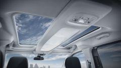 Nuovo Peugeot Rifter 2019, il doppio tetto trasparente