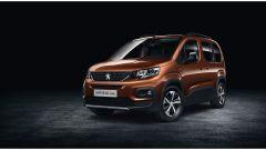 Nuovo Peugeot Rifter 2019, la vista anteriore