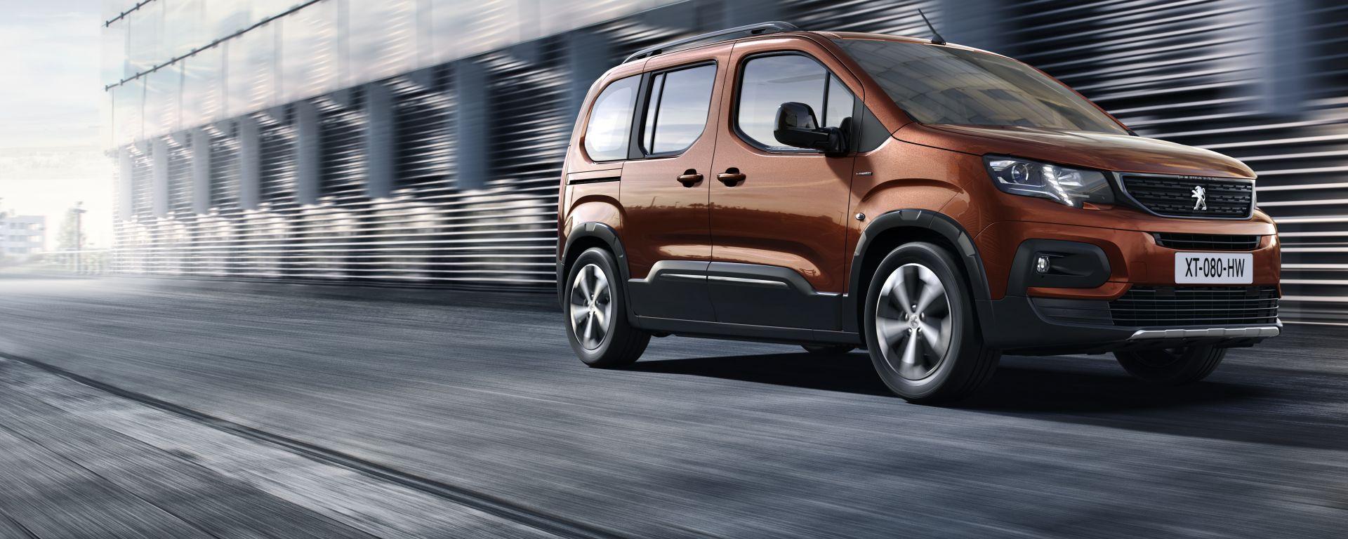 Nuovo Peugeot Rifter 2019, novità da Peugeot