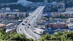 Nuovo Ponte San Giorgio a Genova: già le prime code