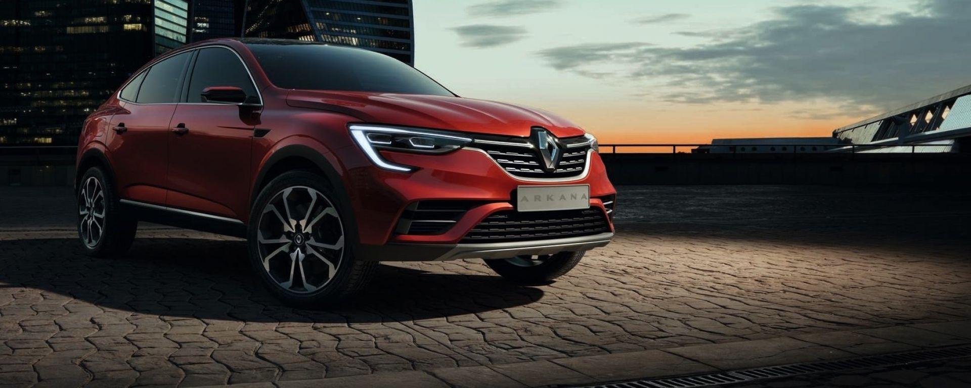 Nuovo Renault Arkana: arriva il SUV coupé ma solo per la Russia (video)