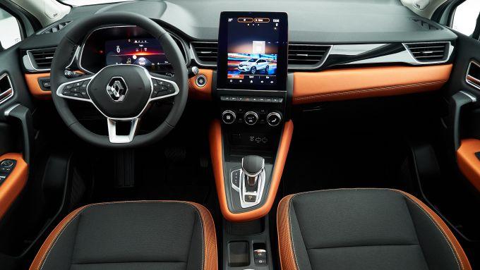 Nuovo Renault Captur: la plancia