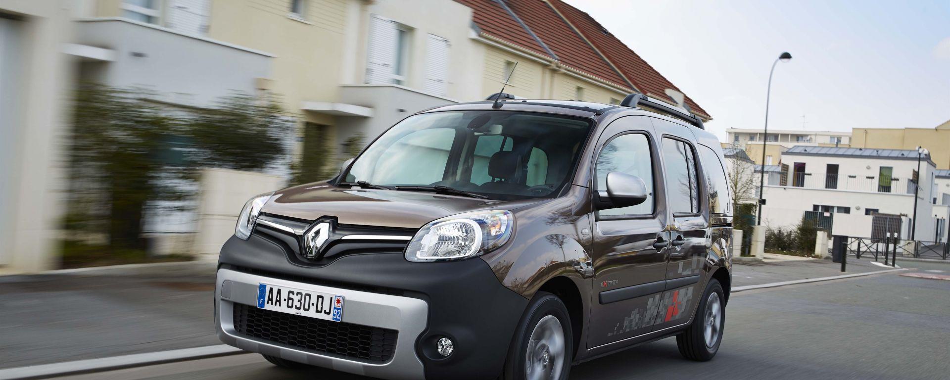 Renault Kangoo: nuove foto e info