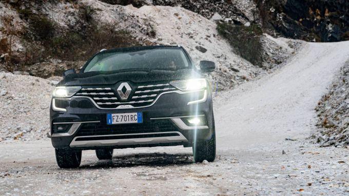 Nuovo Renault Koleos, un ottimo arrampicatore