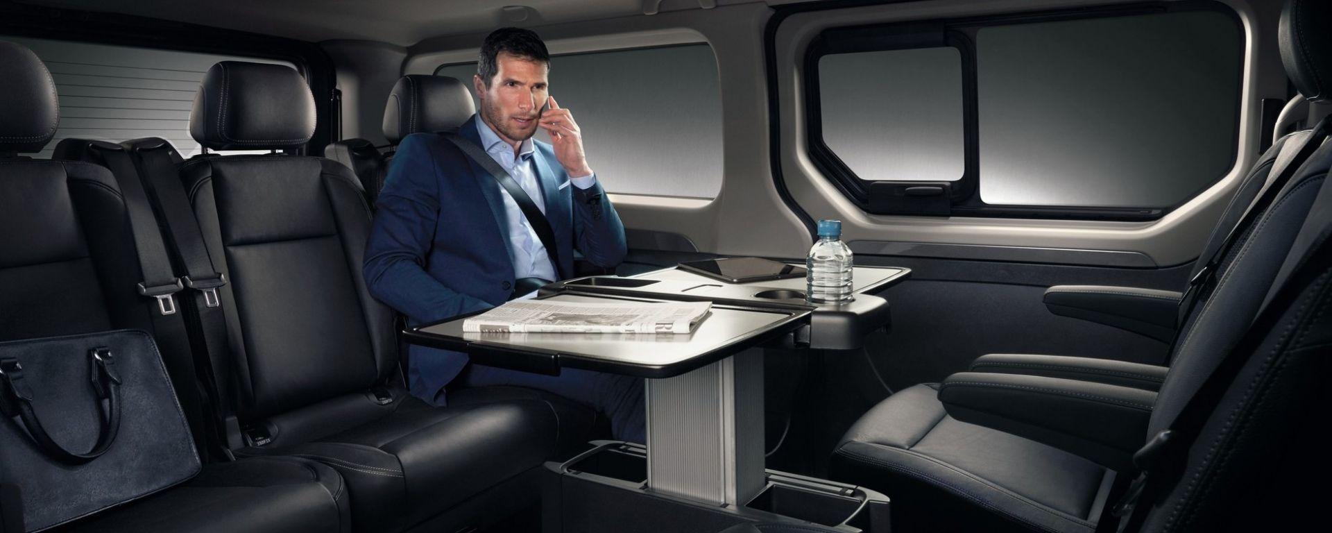 Nuovo Renault Trafic SpaceClass: viaggiare in business